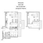 Apartment type C - Floor plan